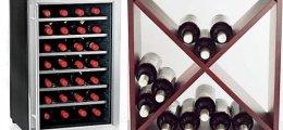 El almacenamiento ideal para el vino